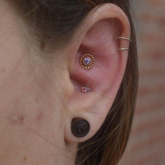 Conch Piercing 25