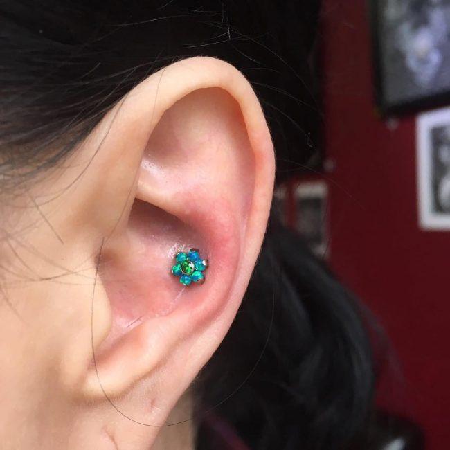 Conch Piercing 27