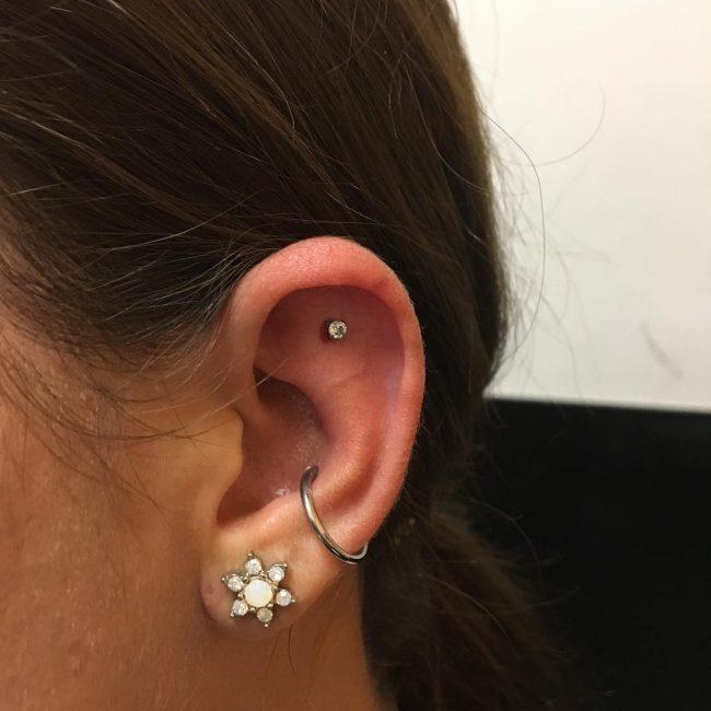 Conch Piercing 31