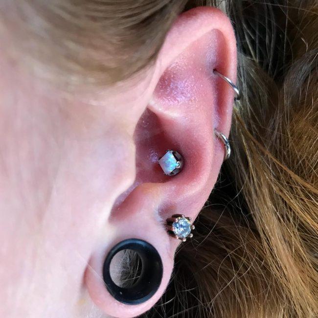 Conch Piercing 32