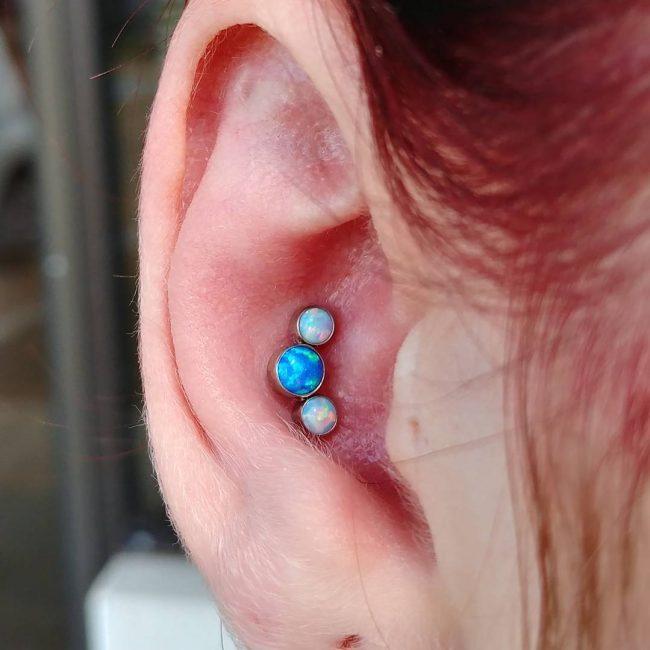 Conch Piercing 33