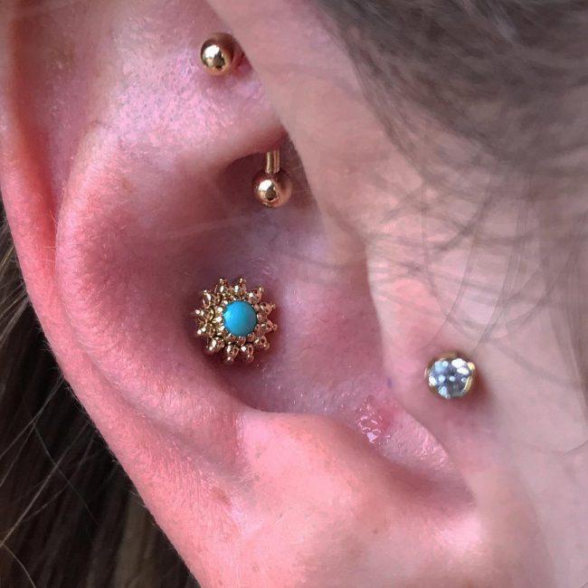 Conch Piercing 34