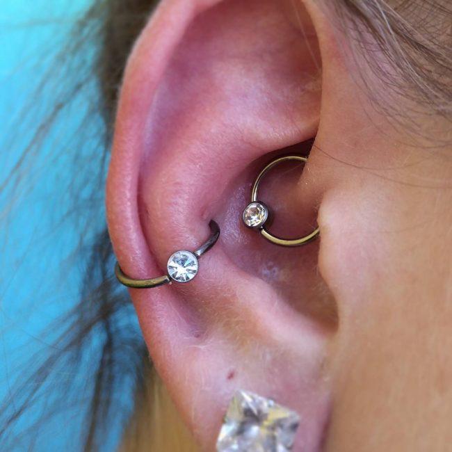 Conch Piercing 37