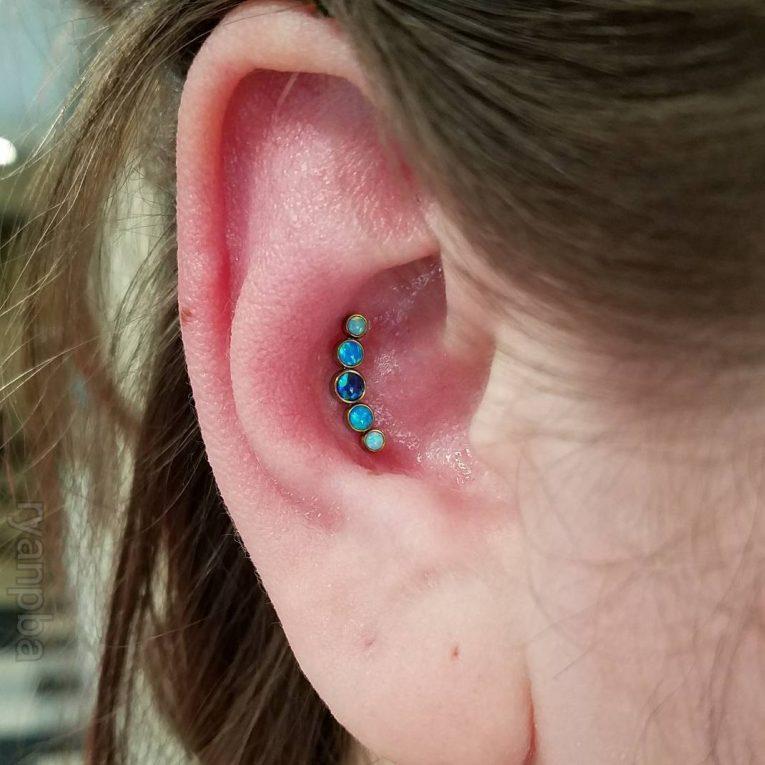 Conch Piercing 38