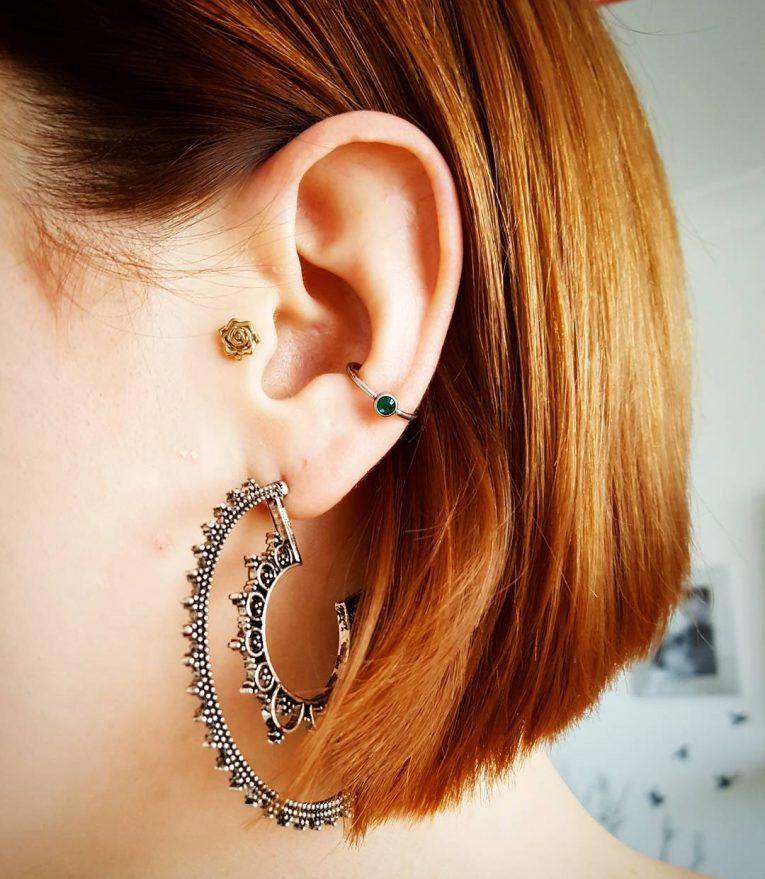 Conch Piercing 40