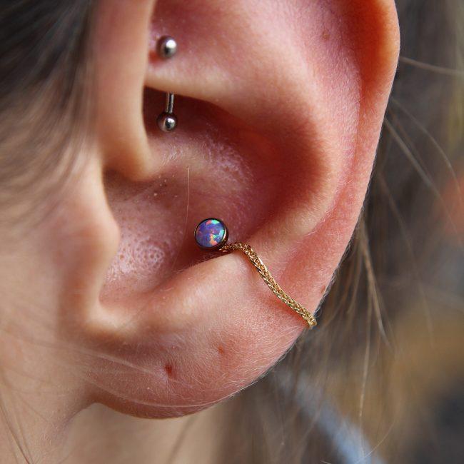 Conch Piercing 42