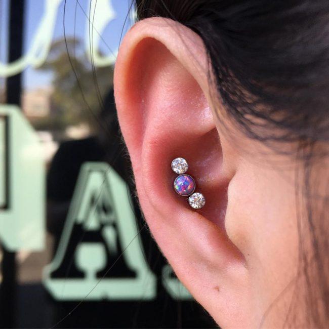 Conch Piercing 44