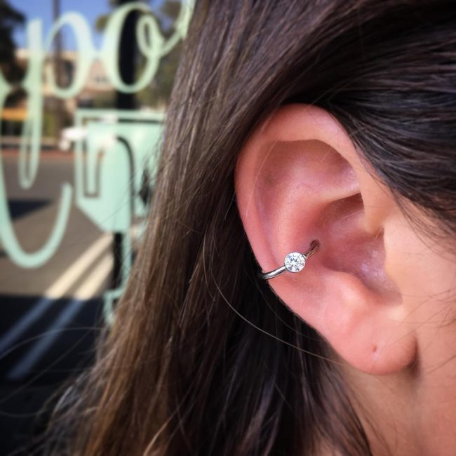 Conch Piercing 46