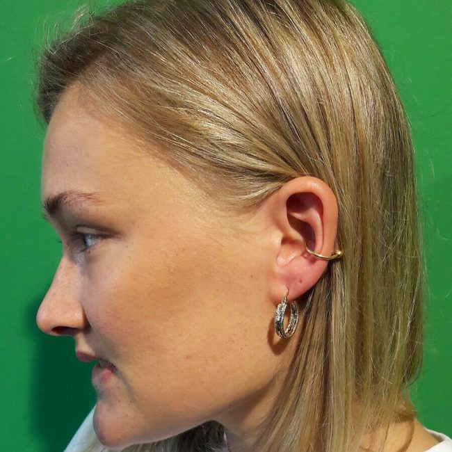 Conch Piercing 48