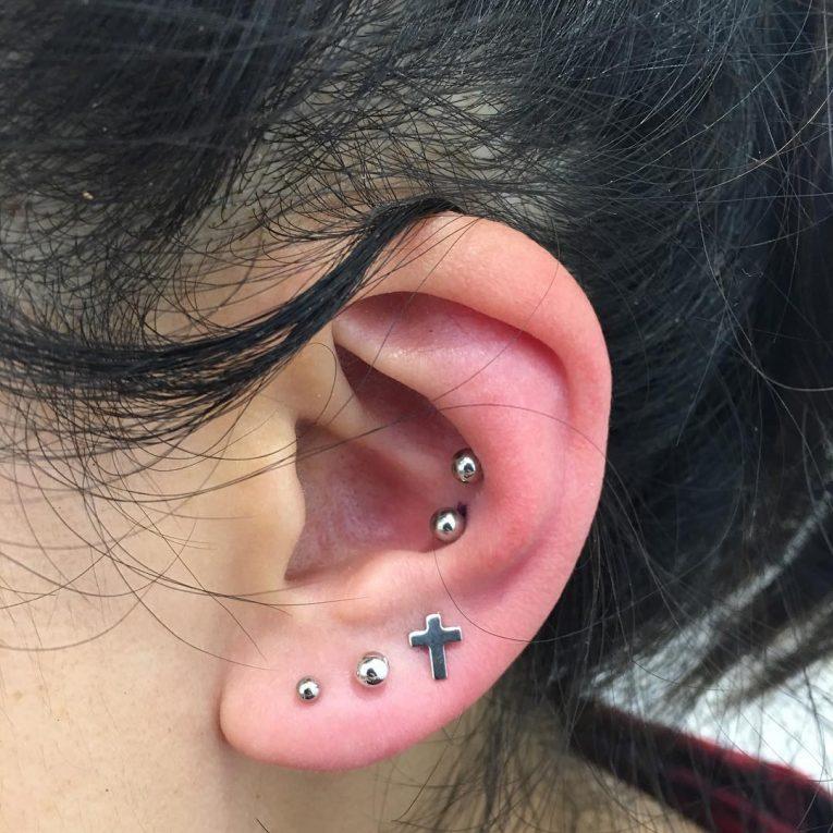 Conch Piercing 5