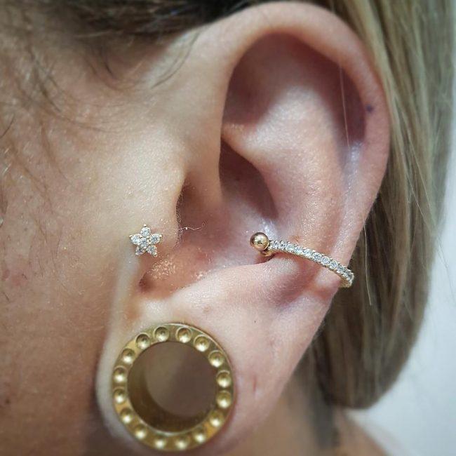 Conch Piercing 52