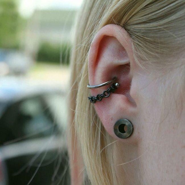 Conch Piercing 7