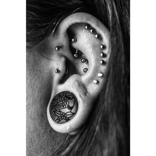 Conch Piercing 8