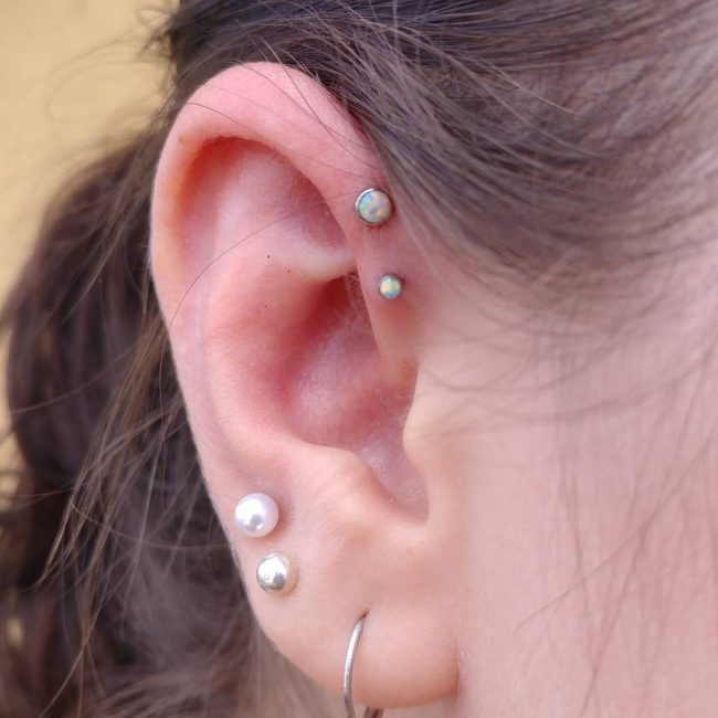 Forward Helix Piercing 15