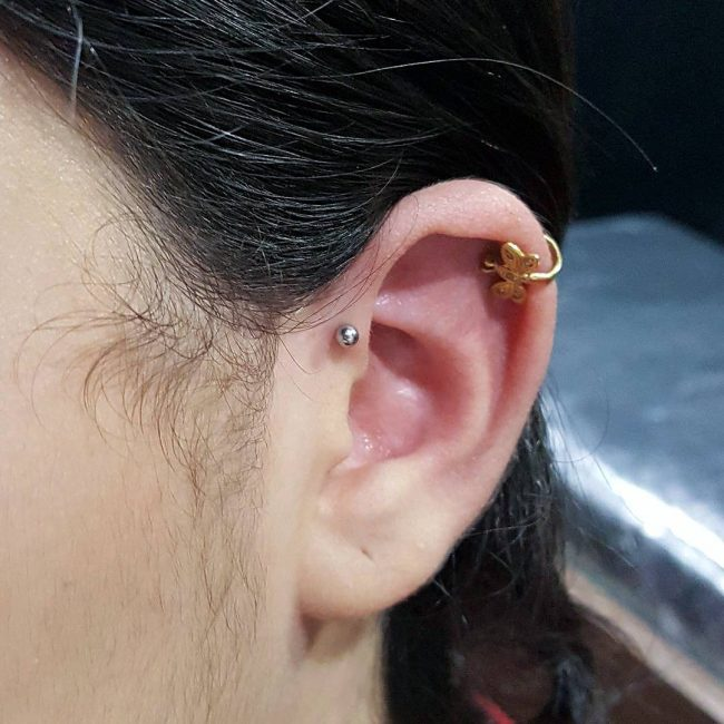 Forward Helix Piercing 30