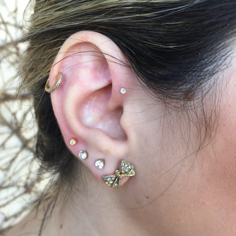 Forward Helix Piercing 8