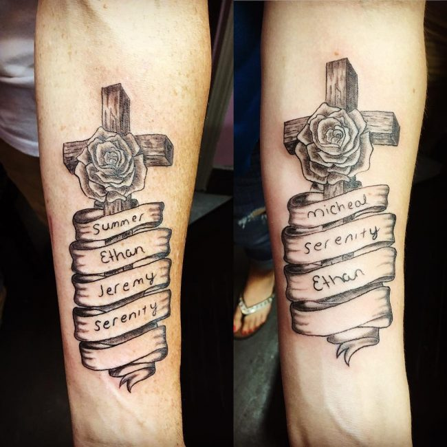 His and Hers Tattoos 107