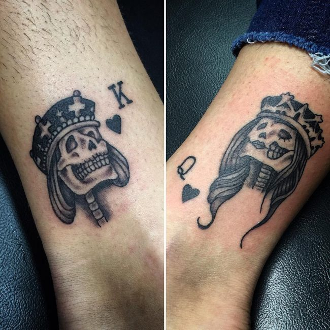 His and Hers Tattoos 108