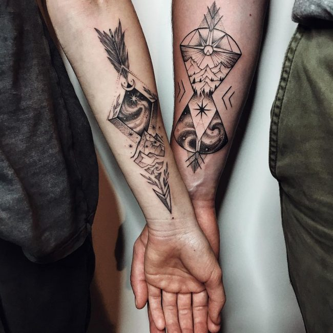 His and Hers Tattoos 113