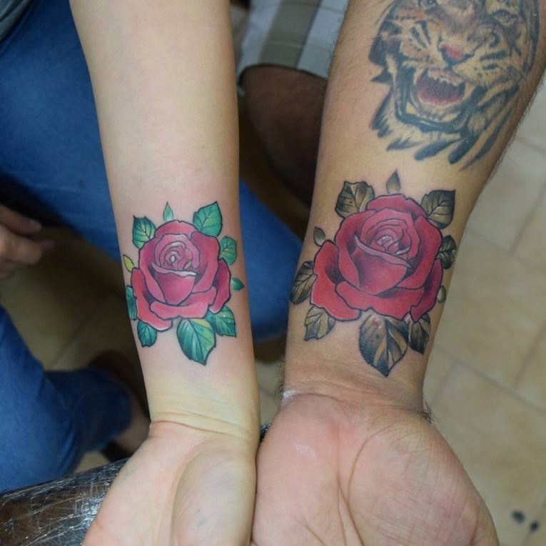 His and Hers Tattoos 117