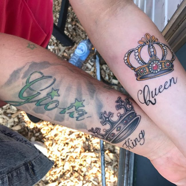 His and Hers Tattoos 13