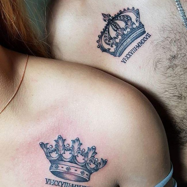 His and Hers Tattoos 15