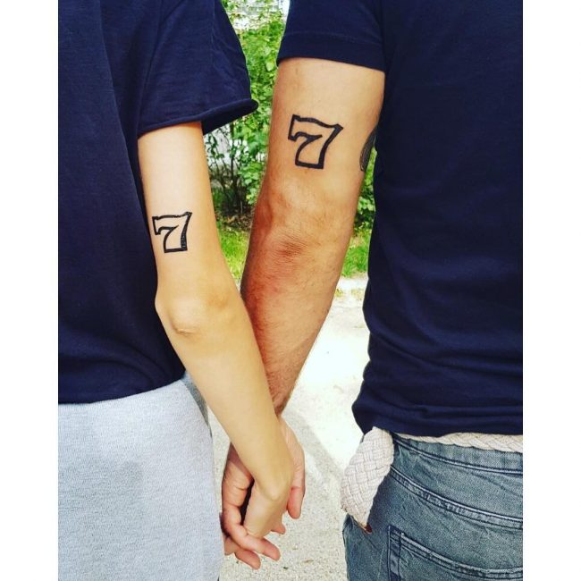 His and Hers Tattoos 18