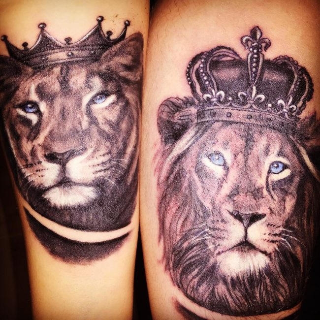 His and Hers Tattoos 19