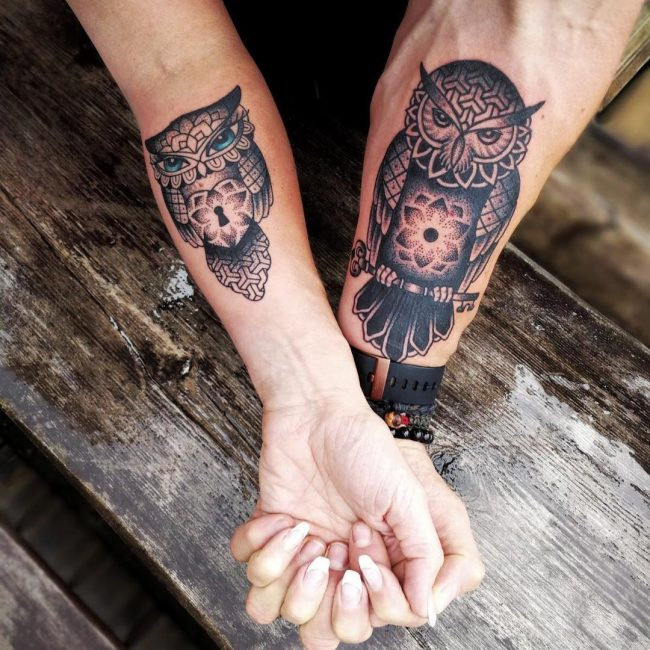 His and Hers Tattoos 2
