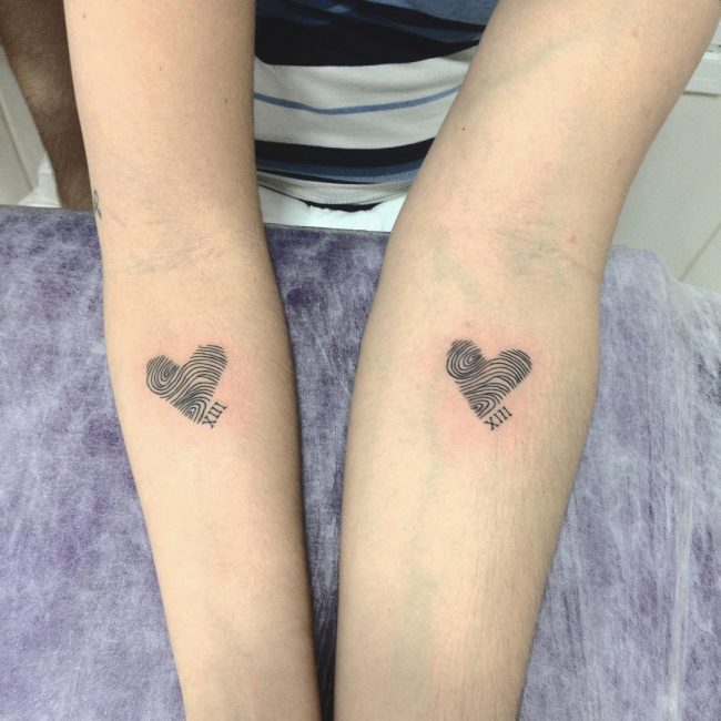 His and Hers Tattoos 20