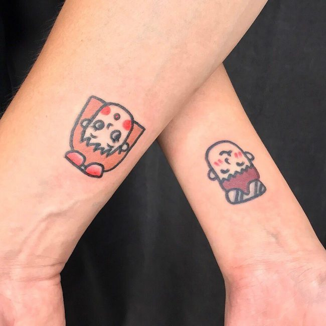 His and Hers Tattoos 21