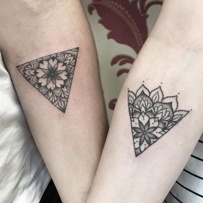 His and Hers Tattoos 24