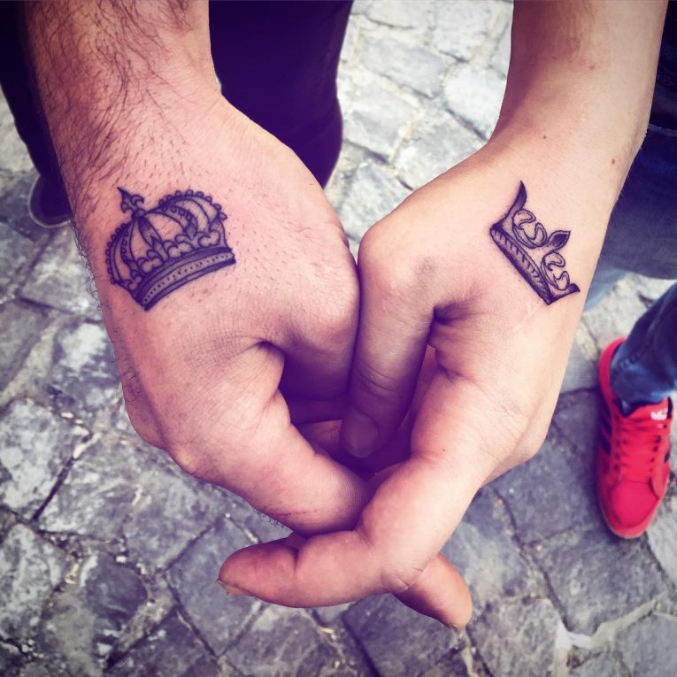 His and Hers Tattoos 29