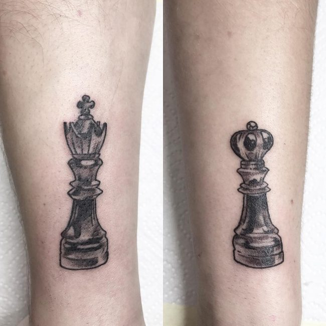 His and Hers Tattoos 33