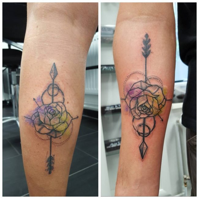 His and Hers Tattoos 36