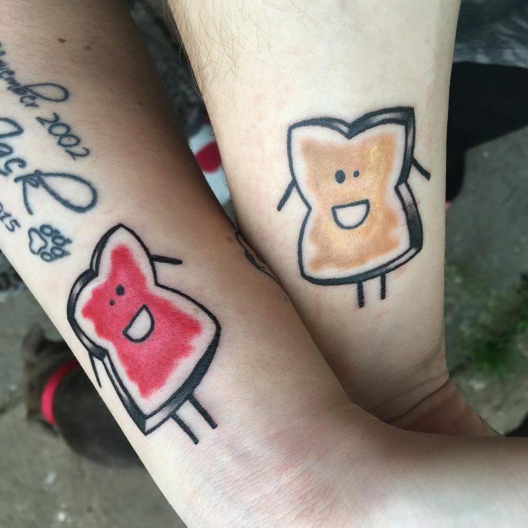His and Hers Tattoos 41