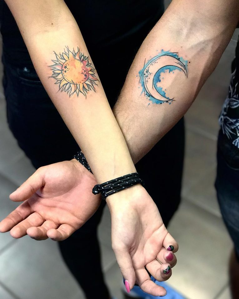 His and Hers Tattoos 42