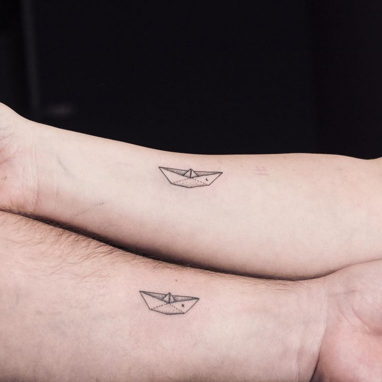 His and Hers Tattoos 49