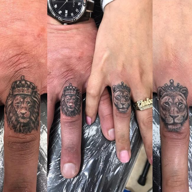 His and Hers Tattoos 54