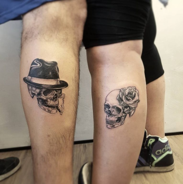 His and Hers Tattoos 6