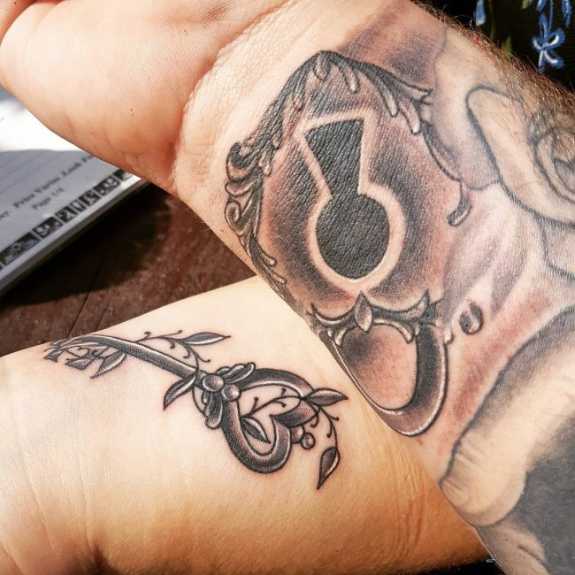 His and Hers Tattoos 60