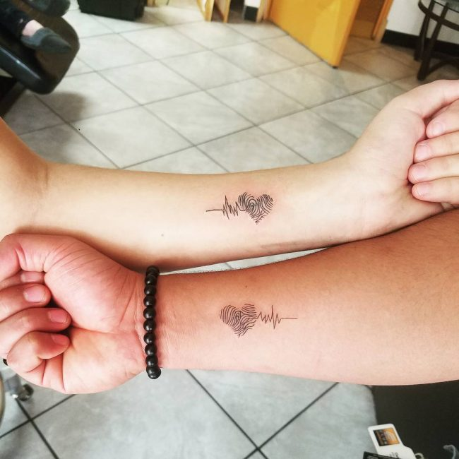 His and Hers Tattoos 62