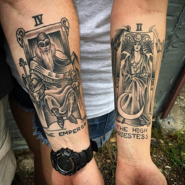 His and Hers Tattoos 65