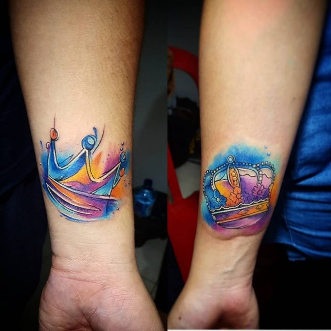His and Hers Tattoos 66