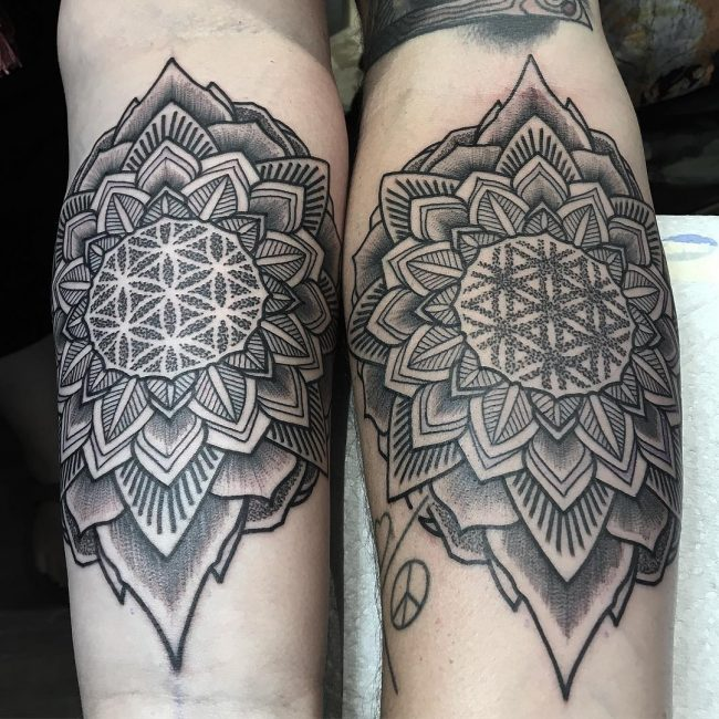 His and Hers Tattoos 68