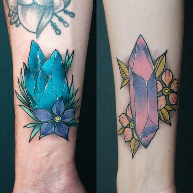 His and Hers Tattoos 69