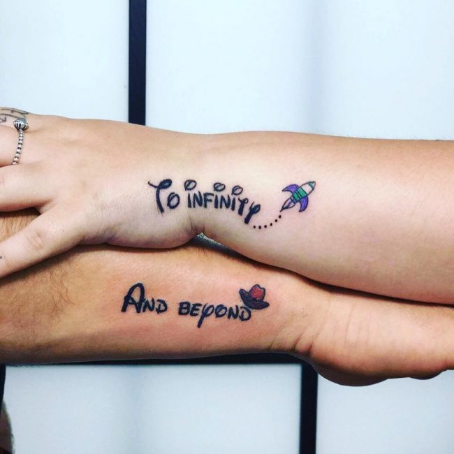 His and Hers Tattoos 71