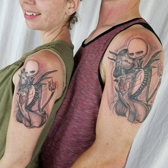 His and Hers Tattoos 81