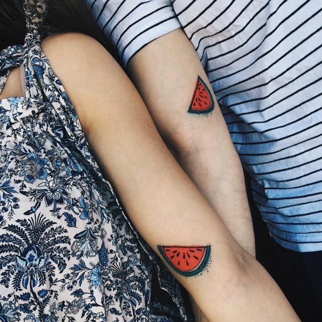 His and Hers Tattoos 82