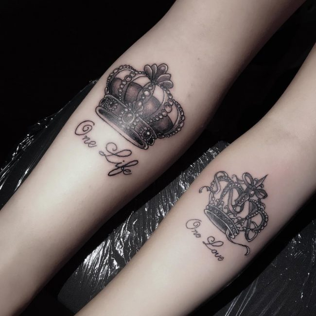 His and Hers Tattoos 84